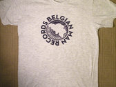 Belgian Man Grey Logo T photo