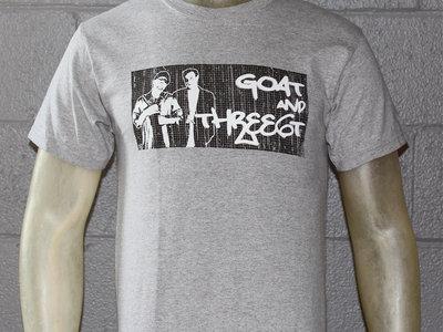 GOAT & three6t T-shirt (Grey) main photo