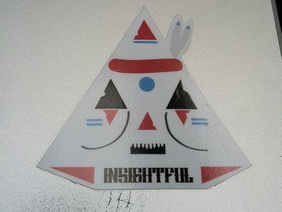 Insightful- 'Native Angle' vinyl sticker main photo