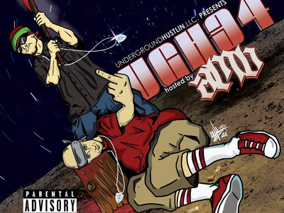 Underground Hustlin Volume 34 hosted by AMB (Axe Murder Boyz) (CD) main photo
