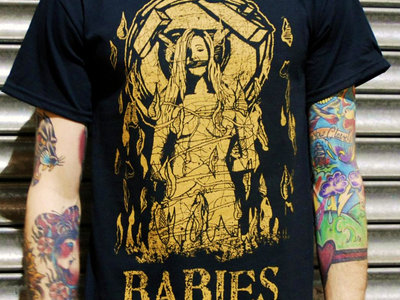 WITCH ON FIRE t shirt main photo