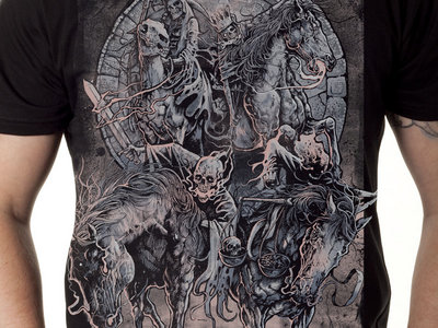 "Grindesign ""4 Horsemen"" Shirt and CD Combo main photo"