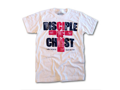 Disciple Of Christ - Mens White T Shirt main photo