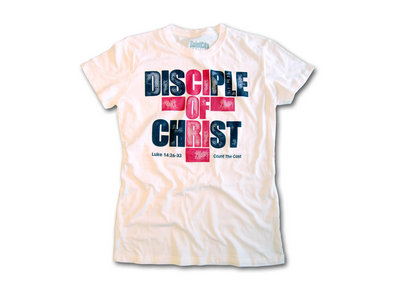 Disciple Of Christ - Womens White T Shirt main photo