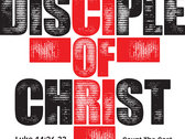 Disciple Of Christ - Womens White T Shirt photo