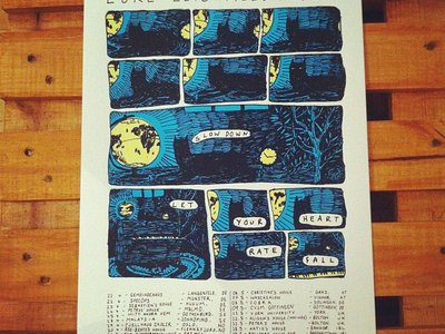 European Tour 2012 Screen Print main photo