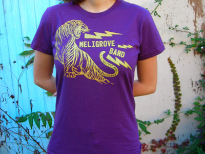 Tiger T-shirt -- Purple & Gold main photo