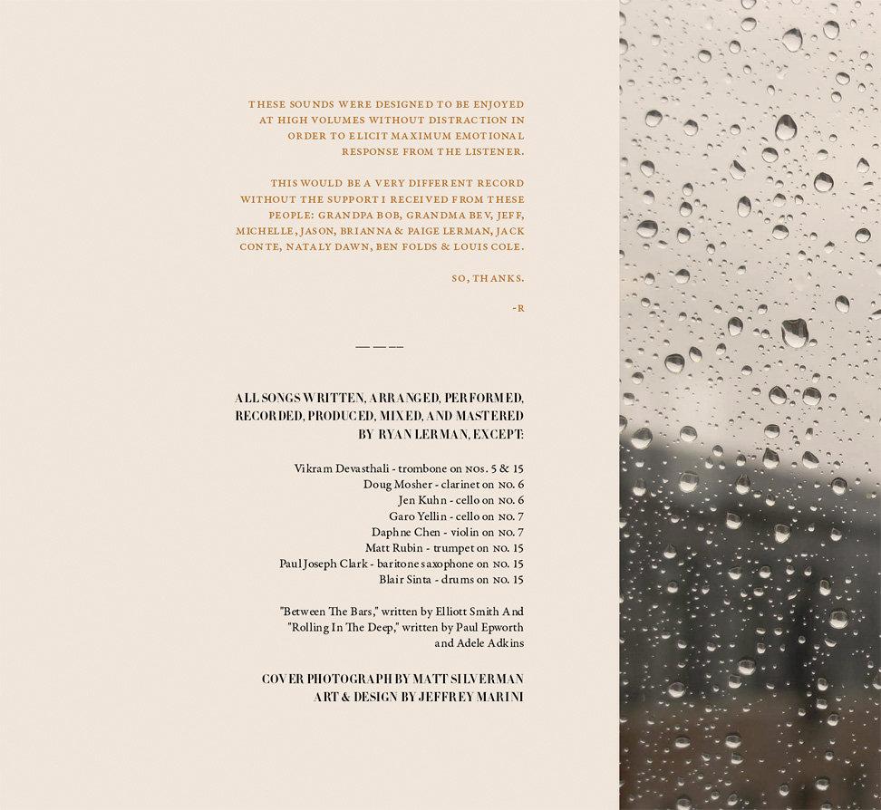 Pinstripes, The Sky | Ryan Lerman