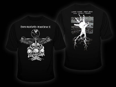 Crow shirt design main photo