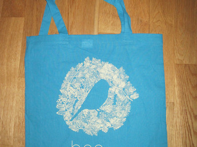 Cotton Tote Bag with the bird main photo