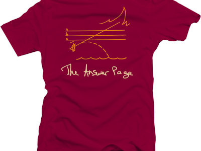 The Answer Page - Featureless Beast (La Fata Morgana) T-Shirt main photo