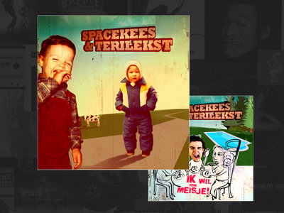 SPACEKEES & TERILEKST (CD) +free single main photo