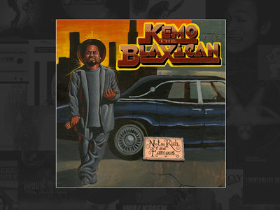 KEMO THE BLAXICAN - Not So Rich And Famous (CD) main photo