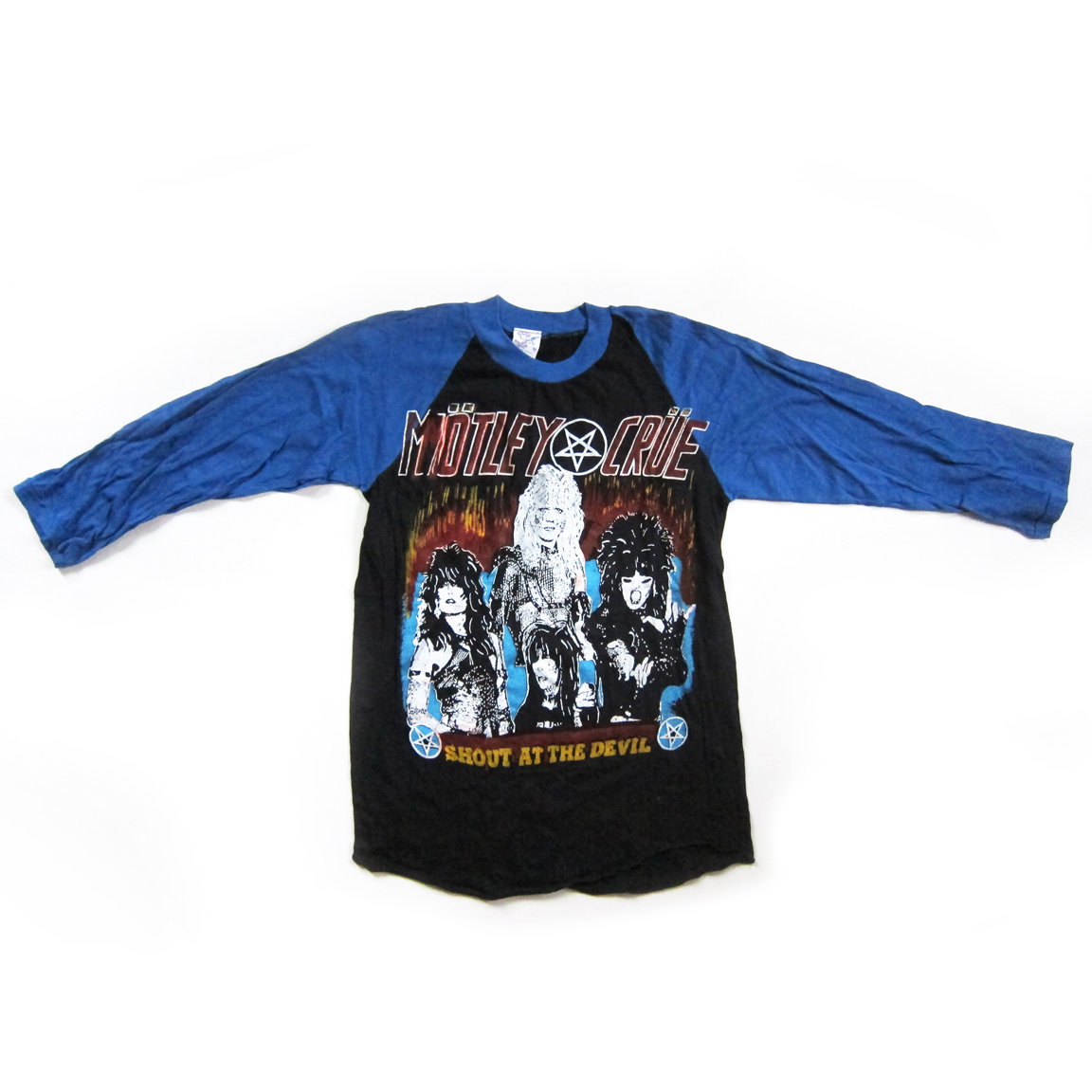 a59e719d Mötley Crüe Premium Vintage Concert Tee (from the 80s, never worn) main  photo