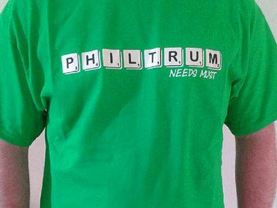 GREEN 'Needs Must' Philtrum T- SHIRT main photo