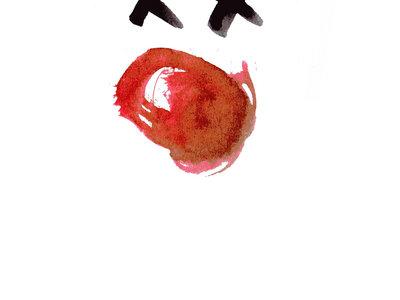 'Dead clown' screen print main photo