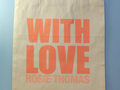 With Love Tote Bag main photo