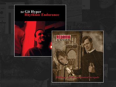 "DJ GIT HYPER / REDRUM SQUAD (split 12"") main photo"