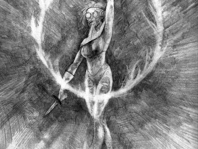 Ring Of Fire Pencil Drawing main photo
