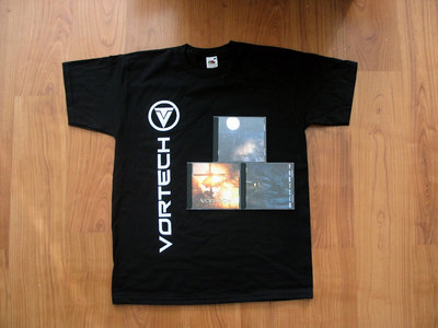 T-Shirt (Sidebar) + 3 Physical CD + Devoid of Life download -package main photo
