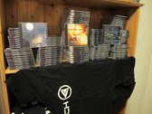 T-Shirt (Sidebar) + 3 Physical CD + Devoid of Life download -package photo