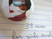 """""""Doll Divider"""", Button Badge photo"""