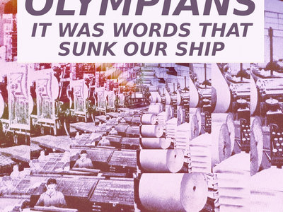 IT WAS WORDS THAT SUNK OUR SHIP cd single main photo