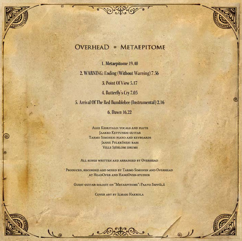 metaepitome overhead includes unlimited streaming of metaepitome via the bandcamp app plus high quality in mp3 flac and more