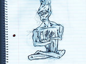 original drawing for album art photo
