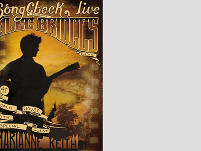 SongCheck Live Presents Alec Bridges Live At The Coach House DVD main photo