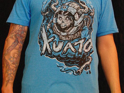 Kuato Spaceskull T-Shirt - Teal main photo