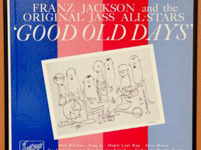 "Franz Jackson ""Good Old Days"" Vinyl Album Cover Framed Wall Art main photo"