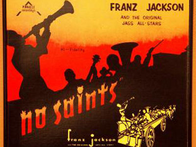 "Franz Jackson ""No Saints"" Vinyl Album Cover Framed Wall Art main photo"