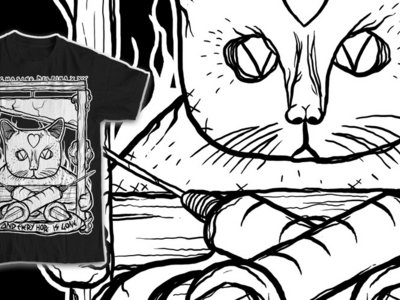 Black Cats & Guillotines tee - SMALL only main photo