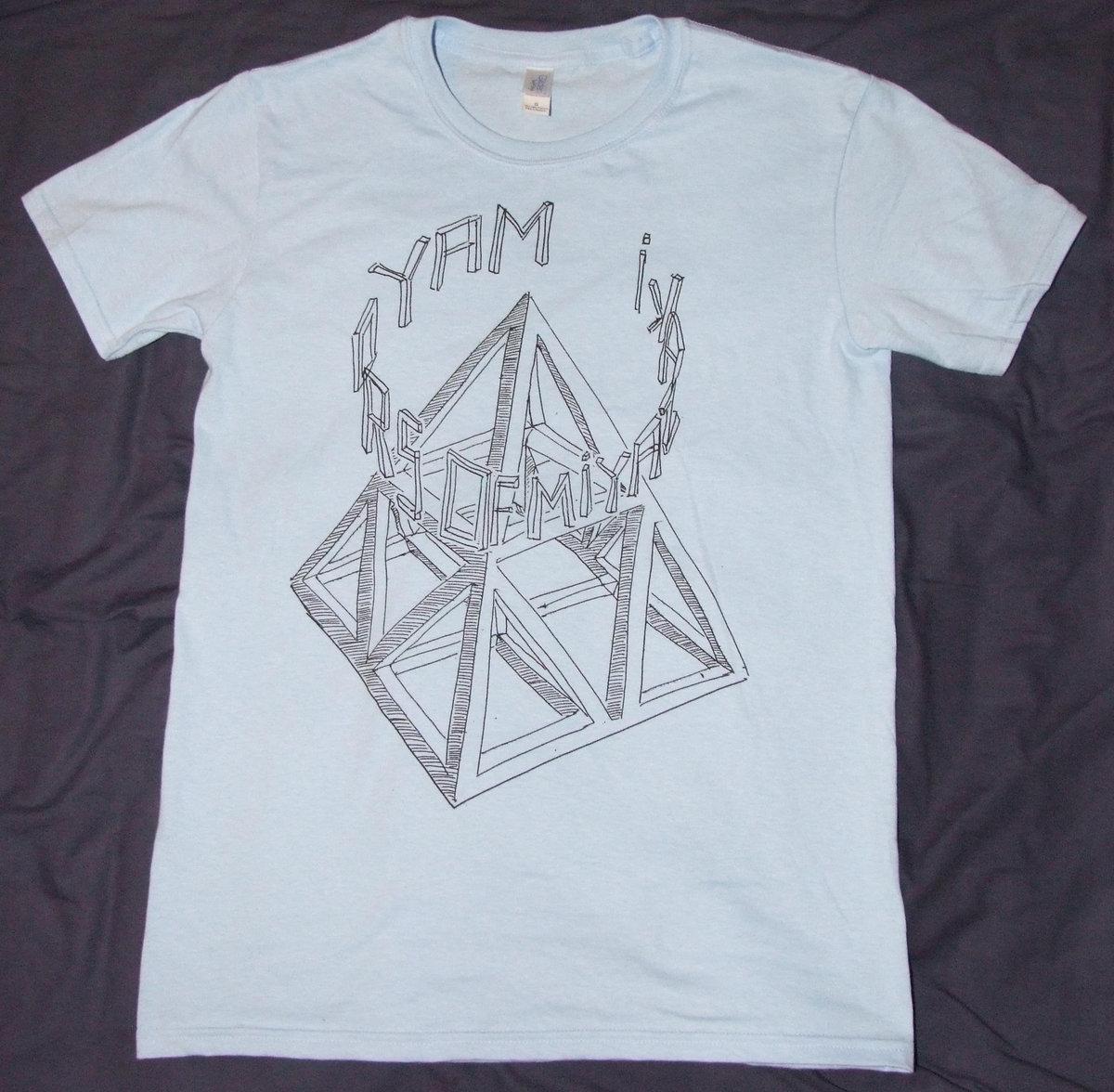 T shirts med print light bluewhite