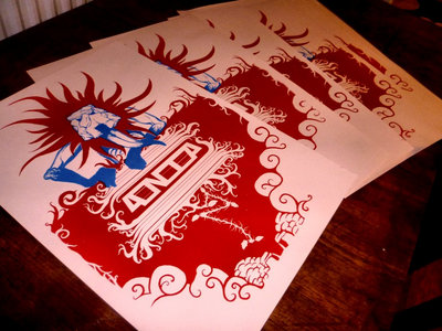 Silk-screened poster main photo