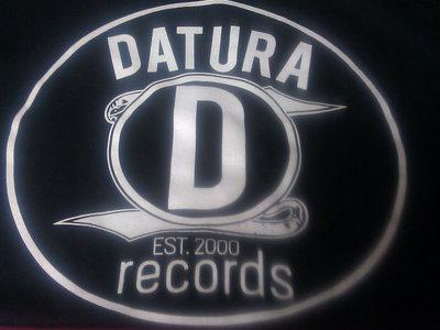 Datura Records Black n Grey T-Shirt (new logo) main photo