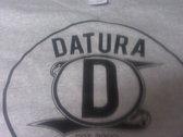 Datura Records Black n Grey T-Shirt (new logo) photo