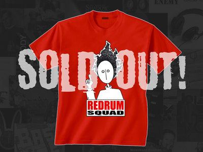 REDRUM SQUAD - T-Shirt (Red) main photo