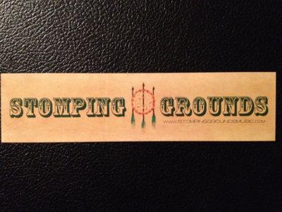 Stomping Grounds Sticker main photo