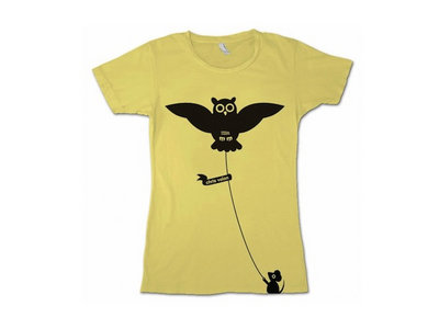Owl T-Shirt - Yellow [Ladies] main photo