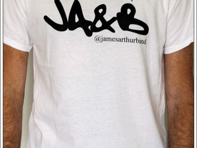JA&B Logo Shirt White/Black print main photo