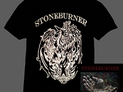 "STONEBURNER ""SICKNESS WILL PASS"" BLACK VINYL LP / T-SHIRT BUNDLE + DIGITAL DOWNLOAD main photo"