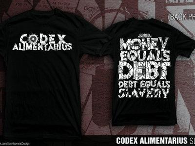 Codex Alimentarius - Slave Tee main photo