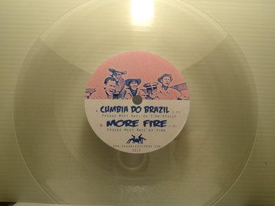 "7' transparent 45T Vinyls - Freadz ""Kazamix do Brazil"" main photo"