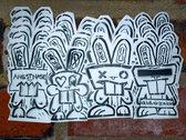 Streetart from Berlin by MAKE 8 photo