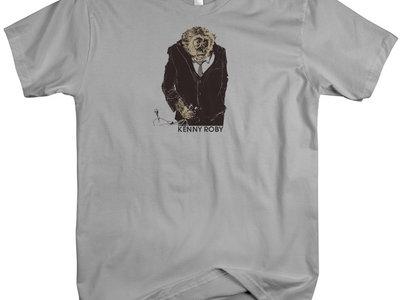 Mr. Gibbon Tee Shirt -  Men's/Unisex Silver main photo