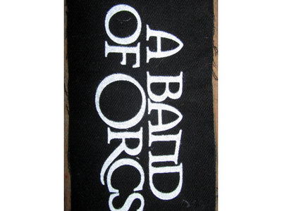 """A Band of Orcs 5""""x4"""" Canvas Pocket Patch main photo"""