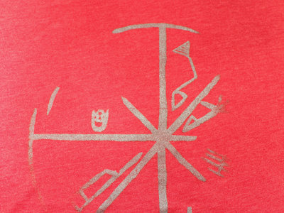 Limited Edition Seven Days T-Shirt (Heather Red with Silver Ink) main photo