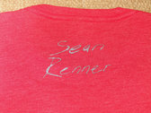 Limited Edition Seven Days T-Shirt (Heather Red with Silver Ink) photo